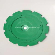 Индивидуальные фрезерные пластиковые детали из HDPE с ЧПУ на станках с ЧПУ