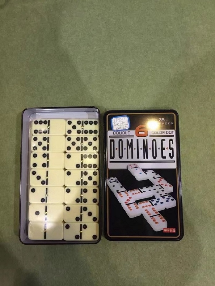 Melamine Dominoes