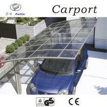 Polycarbonate and aluminum carport steel carport canopy design