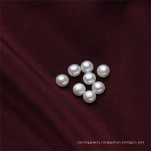 6.5-7mm Small Cute Half Drilled Freshwater Pearls