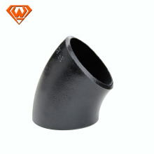 accessories part of pipe fitting with carbon steel welding elbow