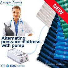 Colchão médico de pressão alternada, colchão de ar médico, colchão inflável