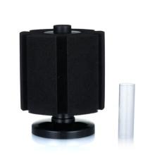Filtro de esponja de aire negro hueco plástico acuario bioquímico XY2813