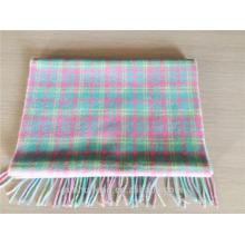 Latest blended plaid scarves for women