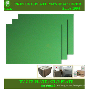 Placa Ctcp de impresión offset de China Cxk