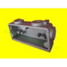 Aluminium-Druckguss für Lampenabdeckung mit Sprühfarbe