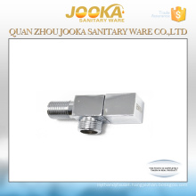 best quality chrome plated hand operated bathroom toilet faucet angle valve