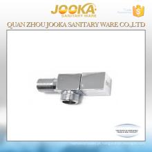 melhor qualidade cromado mão operado banheiro válvula torneira torneira do banheiro