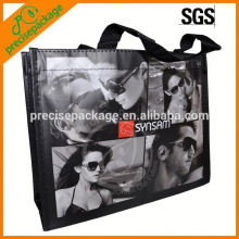 Tamanho médio laminado saco não tecido para promoção de óculos de sol