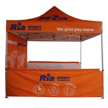 5x5 Pop Up Tent with Durable Aluminum Frame
