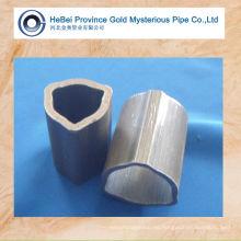 Tubo de acero sin costura de triángulo de alta precisión / tubo