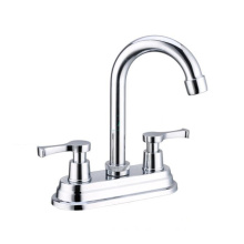 Newest selling Luxury Bathroom water tap basin faucet, 4inch Double handle basin mixer faucet