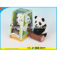 Новинка дизайн детские игрушки красочные Ходячий Электрический пропустить чучело черно-белая Панда