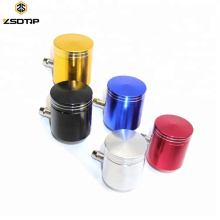 CNC Motorcycle Brake Fluid Reservoir Clutch Tank Cylinder Master Oil Cup Case For Universal many Models