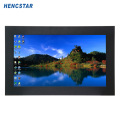 Monitor LCD incorporado com tela de toque e montagem em painel