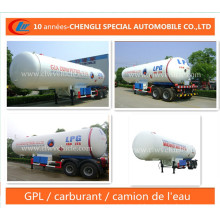 40cbm/20mt LPG Semi Trailer LPG Delivery Trailer for Nigeria