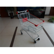 Стиль Россия Тележка Вагонетки Покупкы Супермаркета