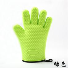 Cotton Heat-resistance Grill Mitt Silicone Glove BBQ tool
