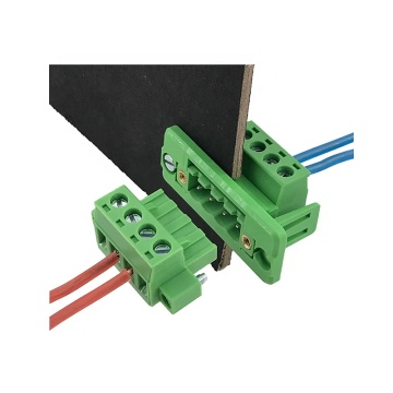 4 ways through wall fixed terminal block