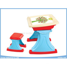 Study Table with Chair 2 in 1 for Kids Educational Toys