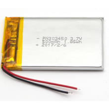 3.7V 500mAh LiPo-batterij Dual Car Camera (LP2X3T6)