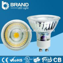 Proyector de cristal de 5W del alto brillo LED, proyector de la COB LED MR16