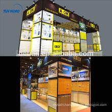 Detian Offer stand display tent trade show display shelving tension fabric booth