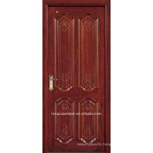 Solid wood door.Carved door.Wood paint door