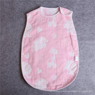 Sacos de Dormir Coloridos 100% Algodão Muslin Mushroom Baby