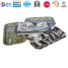 Rechteckförmige Blechschale für Tabak-Paket Jy-Wd-201601604