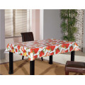 Hot Sale Cheap White PVC Printed Opaque Tablecloth