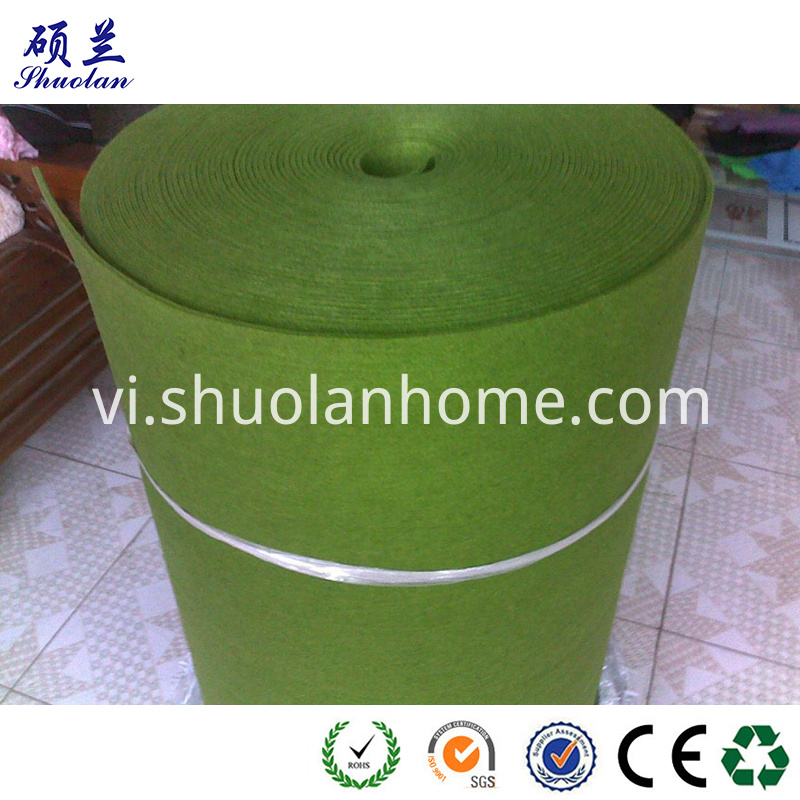 2mm Thickness Green Felt