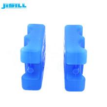Refrigerador de la botella del ladrillo del hielo del gel del material plástico del HDPE