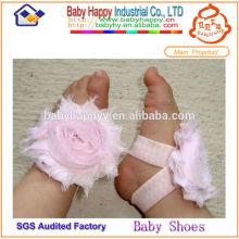 Color infantil de la flor del pie del bebé opcional 1 dólar calza