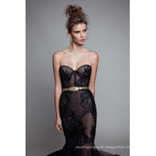 Sweetheart Black Lace Mermaid Evening Dresses