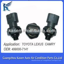 Automóvel condicionador de ar sensor de pressão transdutor para TOYOTA LEXUS CAMRY 4990007141