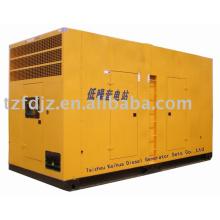 Cadre à faible bruit de 375KVA avec groupes électrogènes diesel ATS