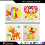 Animal 3d Wood Jigsaw Puzzle Wooden Teaching and Learning Animal Jigsaw