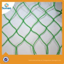 Malla plástica de HDPE que cerca la red contra del pájaro para proteger las frutas