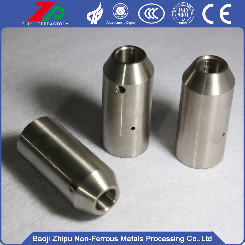 Pure molybdenum seek chuck for electronic component