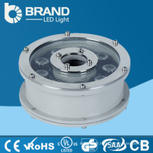 Acier inoxydable 12W étanche à l'eau IP68 RVB LED lampe de table