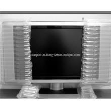 Emballage tampon de poche d'air pour TV