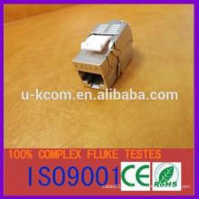 FTP rj45 cat6a 8p8c jack modular keystone jack