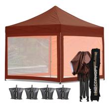 Transparent Camping Screen Mesh Tent Pop-Up Gazebo