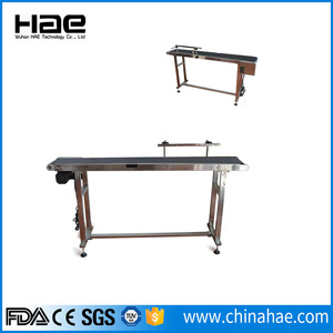 CIJ inkjet printer mobile conveyor belts
