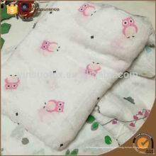 Buena manta de bambú del bebé que respira, patrón de la manta del bebé, manta del bebé bambú