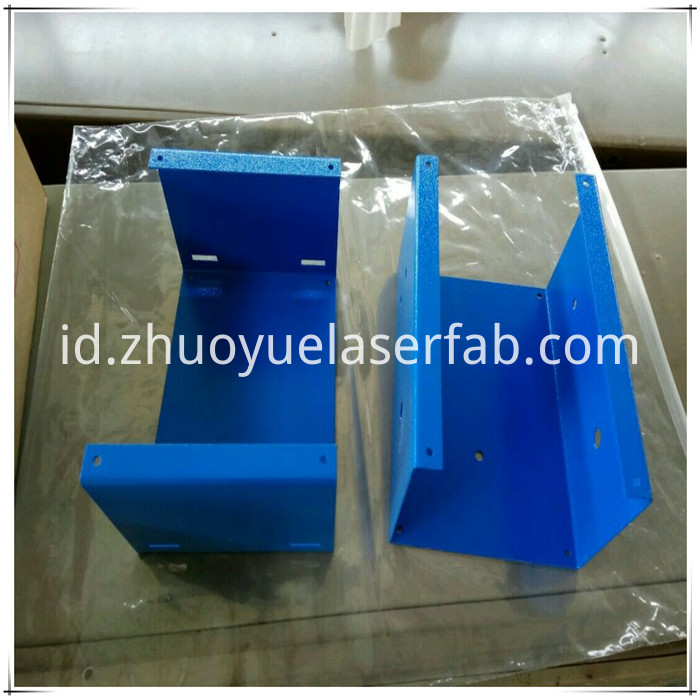 sheet metal fabrication bending parts with powder coating