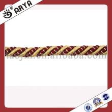 Cordón de algodón de 3 hilos