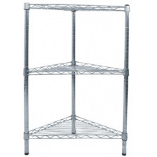 best selling bathroom wire corner rack storage shelf