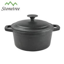 Utensilios de cocina de hierro fundido con revestimiento de esmalte europeo / cazuela / ollas / utensilios de estofado de utensilios